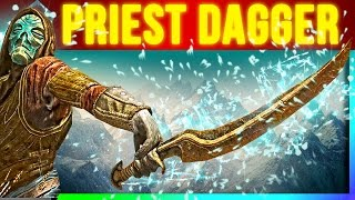 Skyrim SECRET Weapons - Dragon Priest Dagger Location (Rare One Handed Weapon)