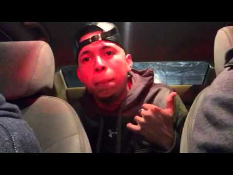 Neo El Angel Musical tirando un freestyle