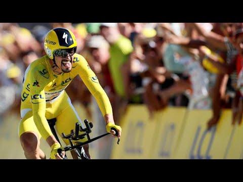Julian Alaphilippe surpreende no `crono` e reforça liderança no Tour