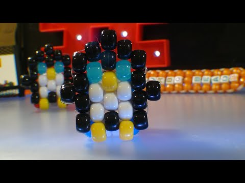 TurboBeads: Penguin [Peyote Stitch] Tutorial