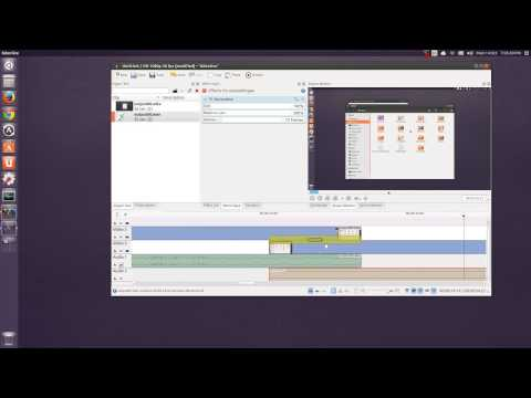 Linux Desktop Video Recording & Editing