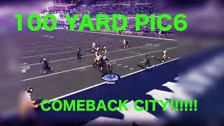 BEST 4TH QUARTER COMEBACK EVER. AMAZING PICk 6 SEAHAWKS VS STEELERS