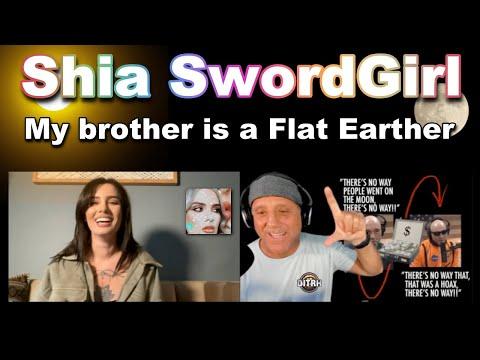 Shiaswordgirl w Flat Earth Dave
