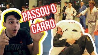 FALSO FAIXA BRANCA PASSA O CARRO NOS GRADUADOS - REACT/JIUJITSU thumbnail