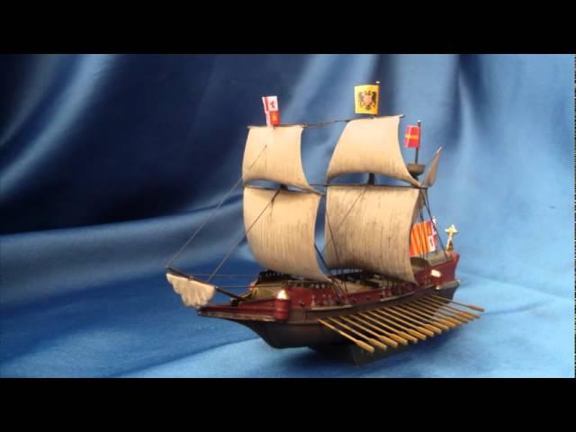 Level 3 Revell 05899 10 Modellbausatz Spanish Galleon im Maßstab 1:450