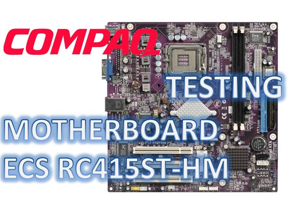 RC415ST-HM MOTHERBOARD WINDOWS DRIVER