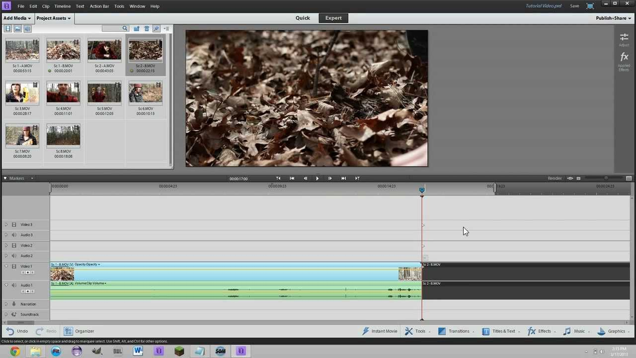 adobe premiere elements 11 tutorial for beginners basic editing rh youtube com Adobe Premiere Elements 2018 Adobe Premiere Elements 12