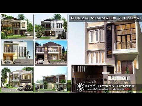 Desain Rumah Minimalis 2 Lantai - Indo Design Center