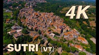 InFlight History 4K - Sutri 4K (Viterbo) Drone 4K View