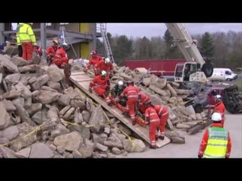 Casualties Union Volunteers, Training in Rescue and First Aid, UK Charity - Promotional Video