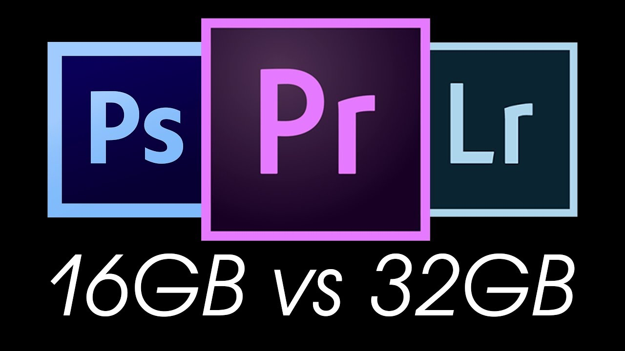 IS A RAM UPGRADE WORTH IT? 16GB VS 32GB Test in Adobe Premier Pro,  Photoshop & Lightroom + Tips