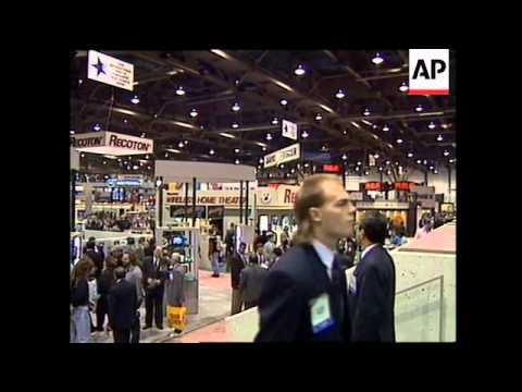 USA: LAS VEGAS. ELECTRONICS HIGH-TECH TRADE SHOW