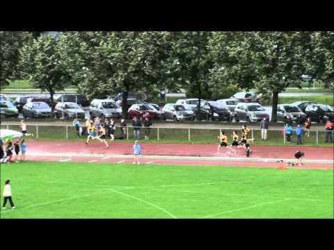 Finale 400m U18M Championnats Genevois