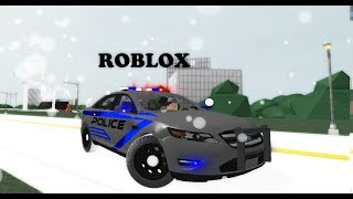 ROBLOX Snow Police Patrol 2017 / Move... Wait it's a animal!!!