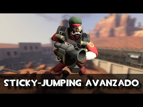 TF2: Tutorial de STICKY JUMPING AVANZADO (Eng sub)