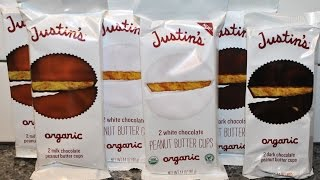 Justin's: Milk, White, & Dark Chocolate Peanut Butter Cup Follow-up Review