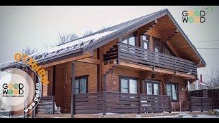 Отзыв о деревянном доме из клееного бруса -