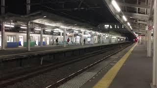 西武10000系レッドアロー特急むさし号池袋行き西所沢駅通過