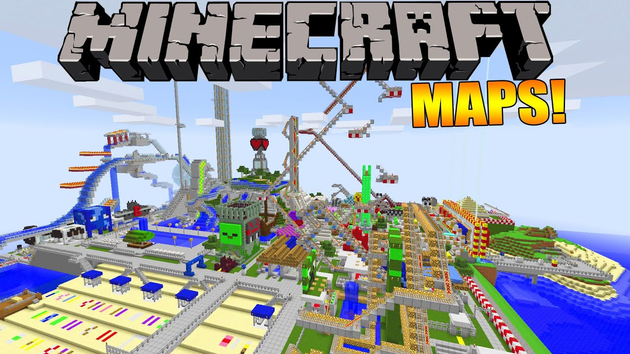 minecraft how to make a map