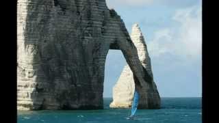 NORMANDIE ETRETAT  2010 .Unglaublich schöne Alabasterküste.JLFILM