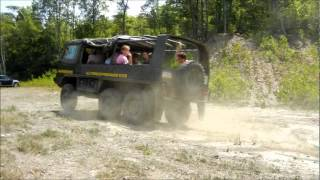 Pinzgauer Tours 6x6 down hill.wmv