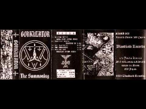 Gonkulator - The Summoning (Demo, 1995)