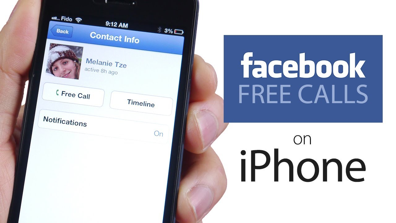 free facebook app for iphone how to make free calls via app on iphone ipod 9160