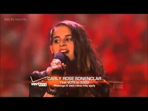 Carly Rose Sonenclar - As Long As You Love Me - X Factor USA Top 6