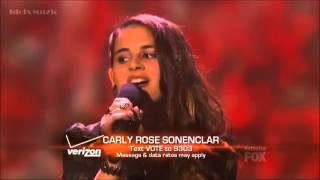 Carly Rose Sonenclar - As Long As You Love Me - X Factor USA Top 6