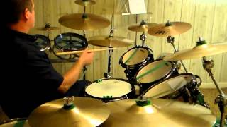 Alice cooper - Halo Of Flies-drum cover 1/1