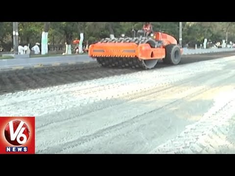 GHMC To Use New Technology For Roads In City | PMB Roads | V6 News