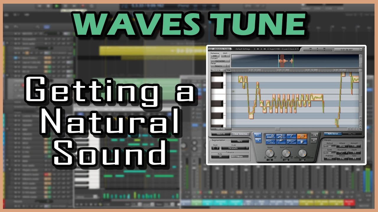 """Not everyone wants to be like T-Pain"" An intro to Waves Autotune!"