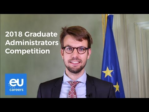 2018 Graduate Administrators Competition | EU Careers