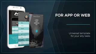 Web App Presentation Andorid | After Effects template