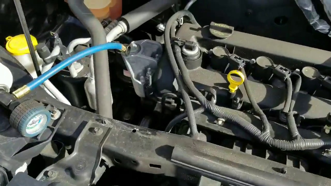 2010 Ford Escape Ac Recharged 134a Freon