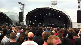 Plastic Bottle Fight at Lamb of God Gig - Soundwave Melbourne 2012