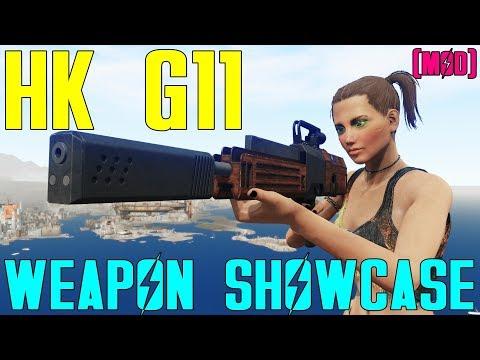 Fallout 4: Weapon Showcases: HK G11 (Mod) thumbnail