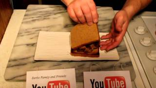 Pulled Pork Garlic Cheese Bread Sandwich A Quick How To Cook With Jimbo Jitsu