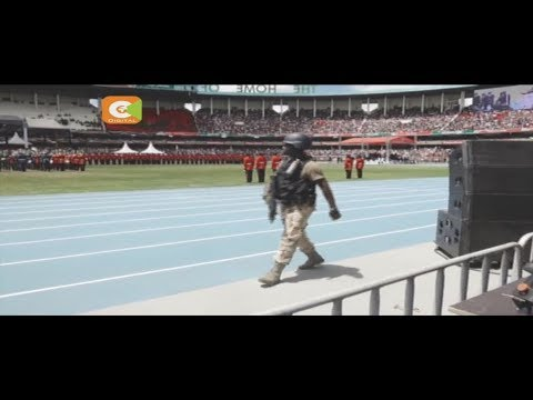 Kenyatta inauguration held under tight security