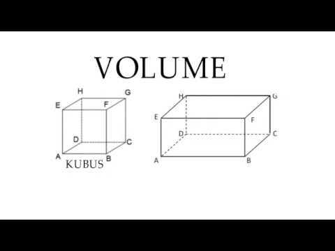 CARA MUDAH MENGHITUNG VOLUME KUBUS DAN BALOK - KELAS 5 #1 - YouTube