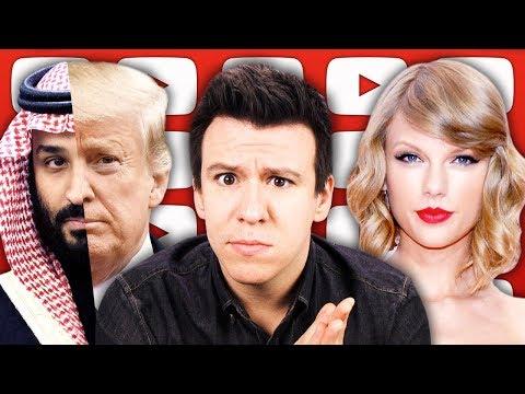 A Short Goodbye, Taylor Swift's Profit Play, Trump's Historic Saudi Arabia Response & More...