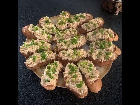 Вкуснейшие бутерброды с печенью трески для хорошего настроения / Готовятся быстро и легко!!!!