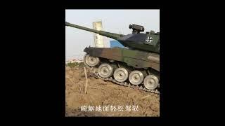 대형 오프로드 무선 조종 RC 탱크