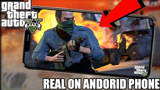 GTA5 ON YOUR ANDORID PHONE REAL OFFICIAL HOW TO PLAY!!!!