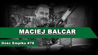 "(11.03.17) Gość Empiku: ""Maciej Balcar"""