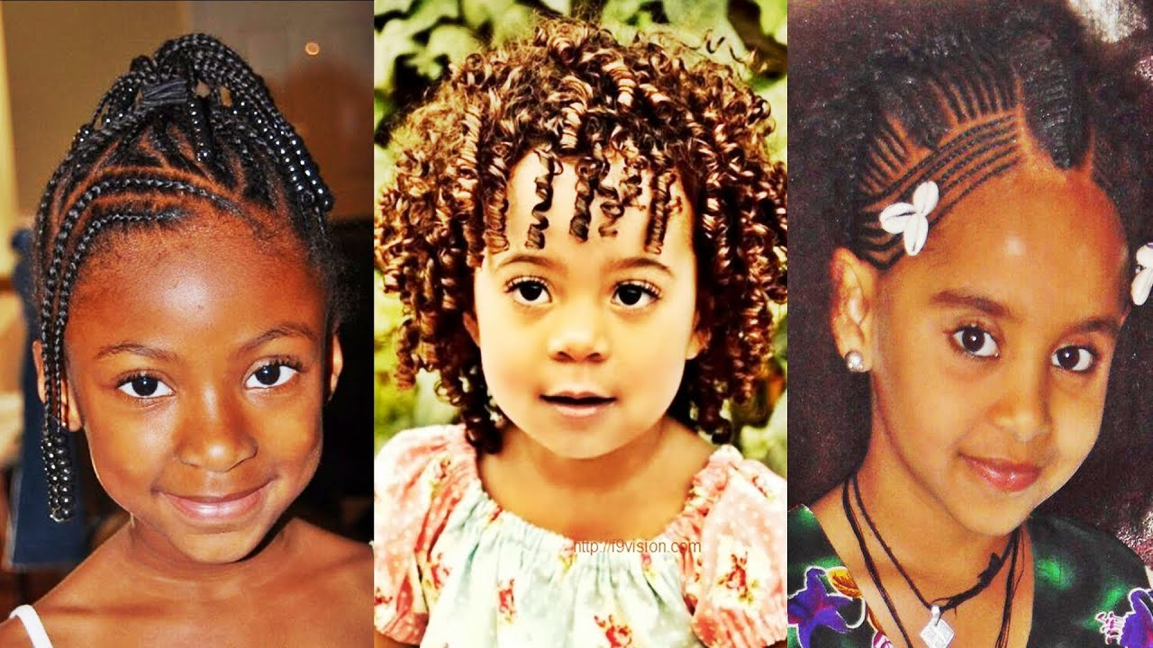 African American Little Girl Natural Hairstyles 2016 Youtube