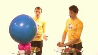Урок.Воздушные шарики.Как сделать Шар сюрприз