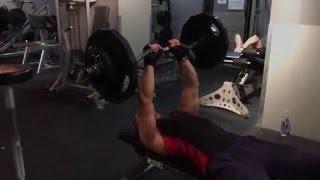 160 Pound 72 kg Triceps Extension