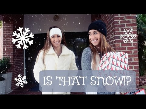 VLOG   TWINS FIRST TIME SEEING SNOW