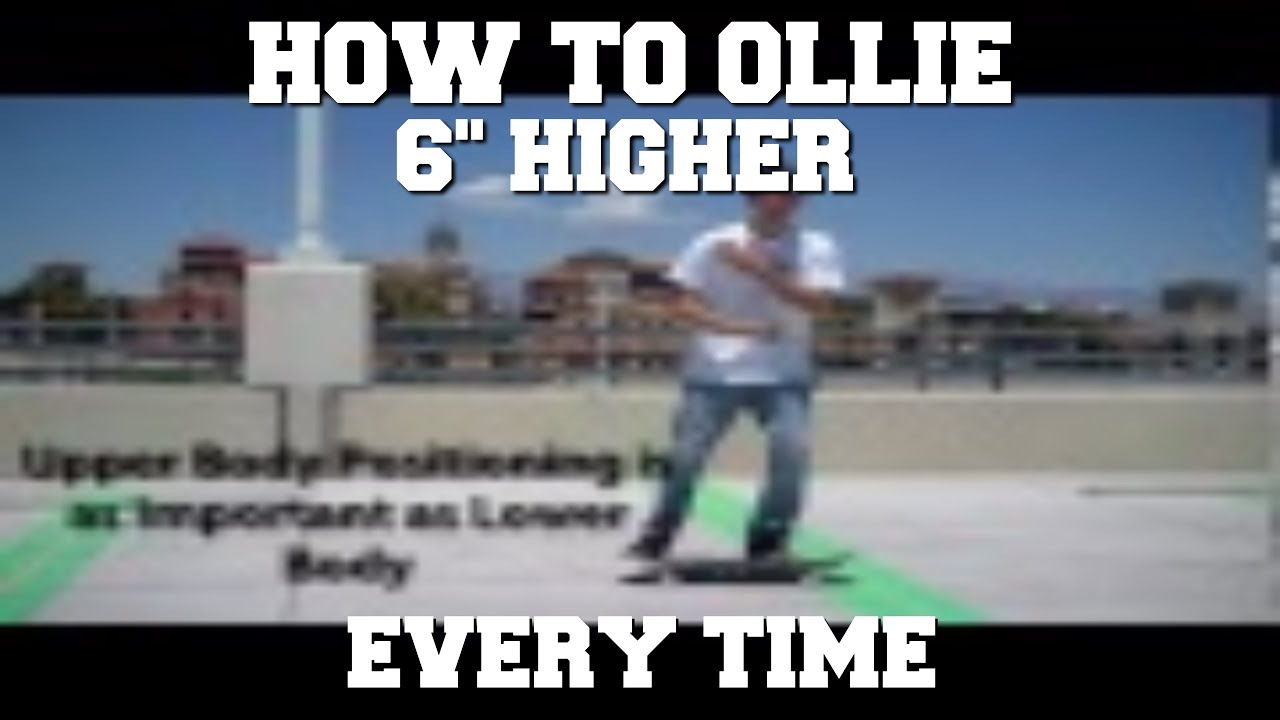 How To Ollie 6